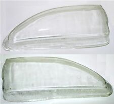 2X TOYOTA AVENSIS Headlights Lens Front Lamps Left + Right