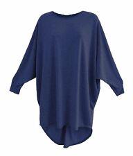 Women's baggy long batwing top oversized casual wear long top 8-26 PLUS SIZE