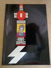 David Britton's Lord Horror #2 Kris Guido art 1989 Rare!