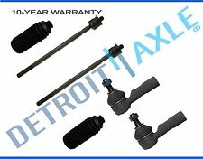 NEW 6pc Inner and Outer Tie Rod Ends for Geo Prizm Toyota Corolla Power Steering