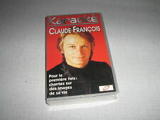 CLAUDE FRANCOIS K7 VIDEO HORS COMMERCE SECAM KARAOKE
