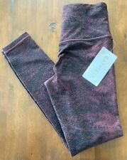 NEW Athleta Women's Small Elation Glades Ultra High Rise Fitted Tight Burgundy