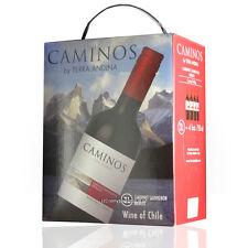 (1L=€5.97) Terra Andina BIB Caminos Cabernet Sauvignon /Merlot  3 Liter 3.00  Li