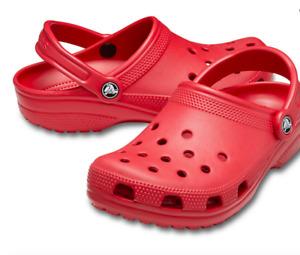 Crocs // Classic Clog [Pepper] (7M) (9W)  #10001