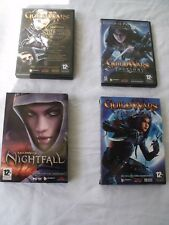 LOT DE 4  JEUX PC GUILDWARS