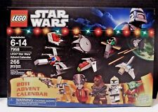 Lego Star Wars Holiday Set 7958 Advent Calendar 2011 Santa Yoda Clone Pilot NEW
