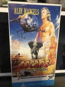 Alby Mangels World Safari 3 Escape Vhs Video Very Rare