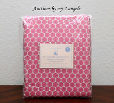 1 Pottery Barn Kids MINI DOT LUXE JACQUARD Blackout Panel 44X96 BRIGHT PINK *NEW