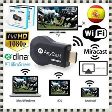 Receptor Anycast M2 + Plus WiFi 1080p TV Dongle Chromecast Ezcast Miracast Cast