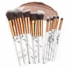 Marble Make up brushes 10 pieces