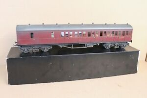 TOWER BRASS G 1 SCALE WEATHERED BR MAROON SUBURBAN B COACH W6789W BOXED nv