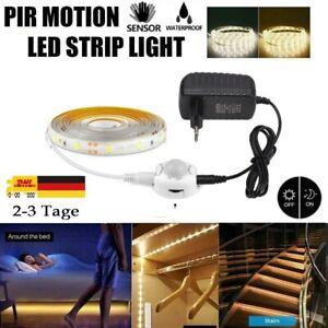 LED 2835 Stripe mit PIR-Bewegungsmelder Lichtband Streifen Batteriebetrieb Band