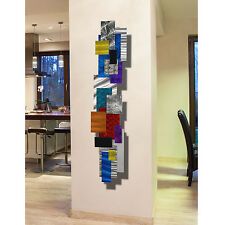 Metal Painting Abstract Modern Home Wall Art Sculpture - Impromto by Jon Allen