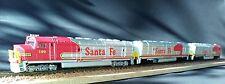 Lok- Digital mit Sound/   Super-Antriebseinheit- 3 Teile- USA- Santa Fe- Spur N