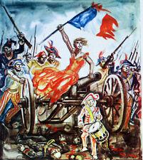 FRANCE FEUILLET PHILATELIQUE CEF 176 REVOLUTION PRISE DE LA BASTILLE 1789
