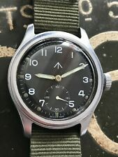 Timor WWW 'Dirty Dozen' military wrist watch, sterile dial, FWO