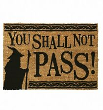 Official Lord Of The Rings You Shall Not Pass Door Mat