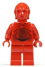 Lego Star Wars R-3PO sw344 (From 7879) Red Droid Droïde C-3PO Minifigure New
