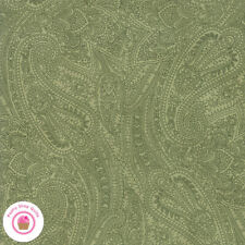 Moda MARCHES DE NOEL 44232 13 Green Paisley 3 SISTERS Quilt Fabric CHRISTMAS