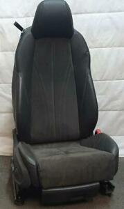 AUDI TT FRONT SEAT RH , 8S/FV, LEATHER/CLOTH BLACK/GREY SPORT, 01/15- 2020