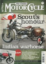 INDIAN MOTOR CYCLE FEATURE ARTICLE MOTOR CYCLE #3 2011 **GOOD COPY**
