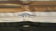 Upholstery zips /& FREE sliders by the metre size 3 cheapest on !