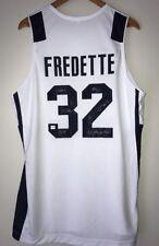 Jimmer Fredette Signed BYU Cougars Autograph College Stat Jersey (Fredette COA)