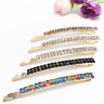 Women's Crystal Rhinestone Hair Clip Barrette Hairpin Bobby Pin Jewelry Gift
