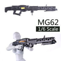 1/6 Scale Avatar MG62 Gun Model Puzzles Building Brick Gun Weapon Action Figure