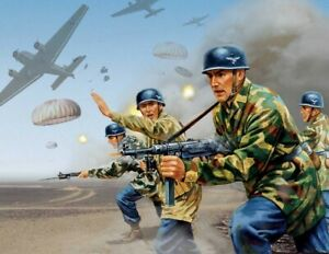 Airfix Vintage Classic 1/32 WWII German Paratroops # A02712V