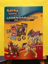 New ~ Pokemon Trading Card Game Legendary Trio Mini Collection (Nintendo, 2018)
