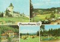 Alte Ansichtskarte Postkarte Finsterbergen Mehrbild 1967 farbig