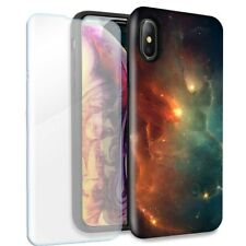 Nebula Double Layer Case Glass Screen For Apple iPhone XR
