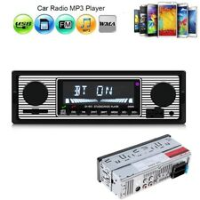 Single 1 Din Bluetooth Car Stereo Audio Radio MP3 Player FM SD TF USB AUX Input
