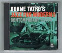 ♫ - DUANE TATRO - JAZZ FOR MODERNS - 1955 - CD 11 TITRES - TRÈS BON ÉTAT - ♫