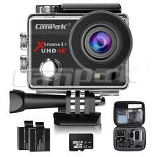 Campark ACT74 Action Camera Sport Kamera WiFi FHD 1080P 4K 16MP Wasserdicht+32GB