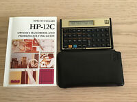 HP-12C Financial Calculator with Owner's Handbook and cover Hewlett-Packard