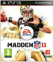 Madden NFL 11, American Football, PS3, NEU & OVP