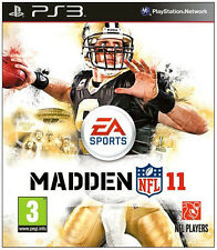 Madden NFL 11, American Football, ps3, NUOVO & OVP