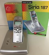 Sirio 187 Cordless argento