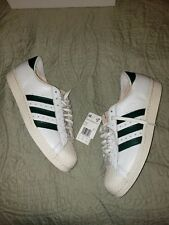 Adidas Superstar 80s Recon Crystal White-Collegiate Green B41719 Men's Size 12