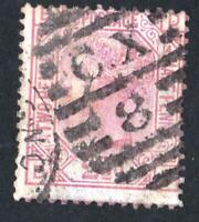 Royaume uni - N°:56 -VICTORIA -globe watermark   USED-  CV  :45 € year 1875