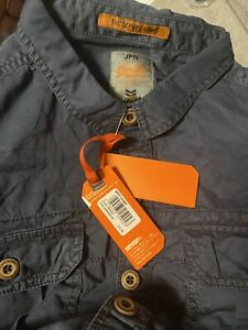 mens superdry long sleeve shirt xl In Label.But It Will Be Large.100% Original