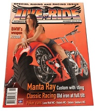 LIVE TO RIDE   MOTORCYCLE MAGAZINE NOVEMBER 2005 NO.207