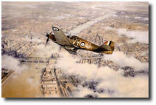 Defence of the Realm by Robert Taylor - Hurricane - WWII - Battle of Britain