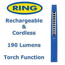 Ring RIL1900 SMD LED Inspection Lamp Light Torch Slim Rechargeable & Cordless