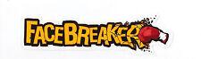 "XBOX PS3 NINTENDO 360 Promo EA Sports ""FaceBreaker"" Boxing K.O. Decal Sticker"