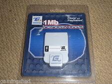 PLAYSTATION 1 PS1 PSONE 1 MB scheda di memoria 15 Blocco! Nuovo di Zecca 1 MB SCHEDA DI MEM