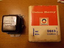 66 67 Corvette 427 W/A/C NOS GM D663 1119519 519 Voltage Regulator July 1966