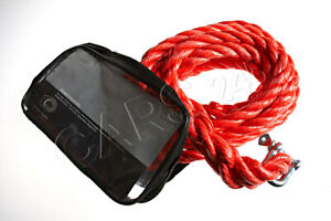 Genuine Audi Accessories 4000 kg 8818 lbs 4 Ton Towing Rope 8R0093054